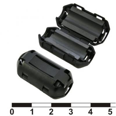 Ферритовый фильтр ZCAT1730-0730A-BK (black)
