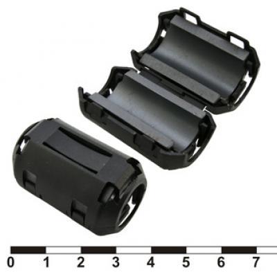 Ферритовый фильтр ZCAT2436-1330A-BK (black)