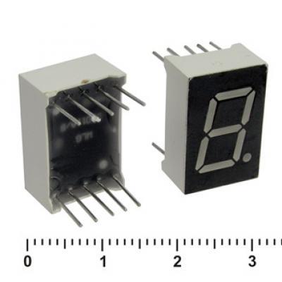 Цифровой индикатор KEM-5101AG (green) катод