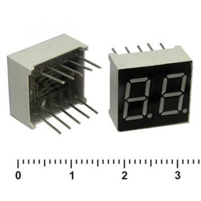Цифровой индикатор KEM-3261AR (RED) об.катод
