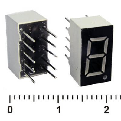 Цифровой индикатор KEM-3161AG (Green)об.катод