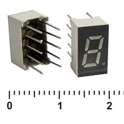 Цифровой индикатор KEM-3101BR (Red) об.анод