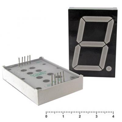 Цифровой индикатор KEM-18102BG (Green)об.анод