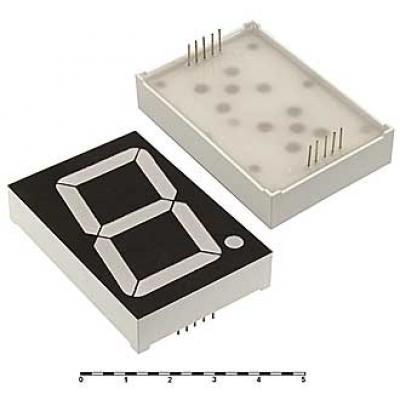 Цифровой индикатор KEM-18102AR (Red) об.катод