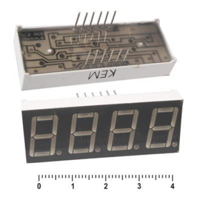 Цифровой индикатор KEM-5461AR (Red) об.катод