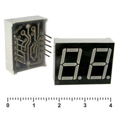 Цифровой индикатор KEM-5262AG (Green) об.катод