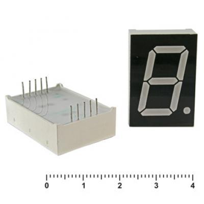 Цифровой индикатор KEM-1106BR (Red) об. Анод