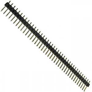 штыри для плат PLS-40 (шаг 2.54 мм)