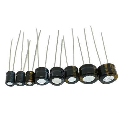 Конденсатор электролитический h=5mm 220uf/10v 8x5mm ST