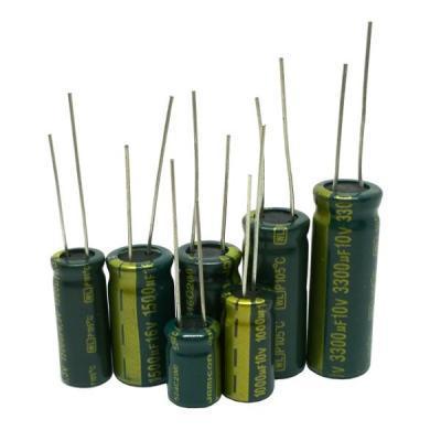 Конденсатор электролитический 1000uf/25v 10x21mm WL 105°C