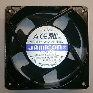 Вентилятор AC 120x120x38 (220V/0.13A) JA1238H2B010N-T-R качения Jamicon