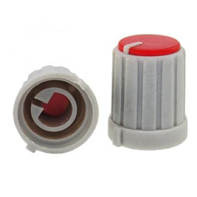 Приборная ручка RR4853 (6mm п.круг красный)