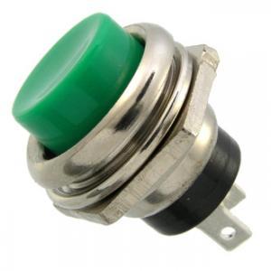 Кнопочный переключатель PBS-26B off-(on) зеленый