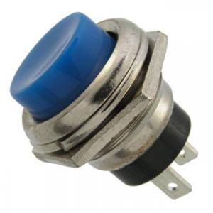 Кнопочный переключатель PBS-26B off-(on) синий