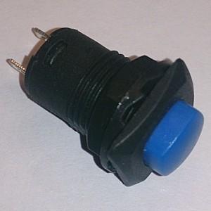 Кнопочный переключатель D319 on-off (blue)