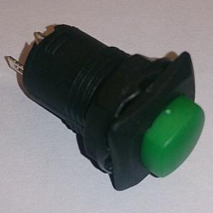 Кнопочный переключатель D319 on-off (green)