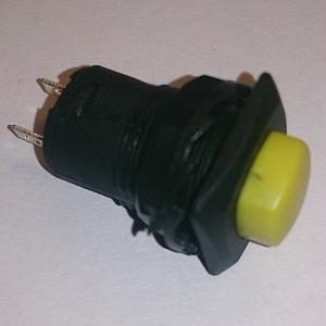 Кнопочный переключатель D319 on-off (yellow)