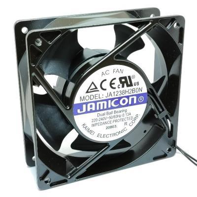 Вентилятор AC 120x120x38 (220V/0.13A) JA1238H2B010N-L-R качения Jamicon