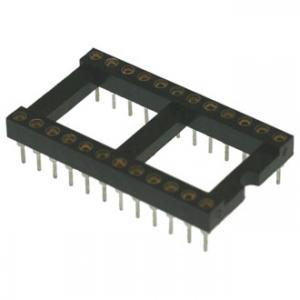 Панель для микросхем SCLM24 dip-24 (2.54mm) (цанговые)