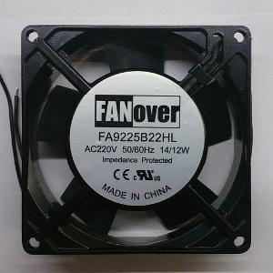Вентилятор AC 92x92x25 (220V/14W) FA9225B22HL качения FanOver