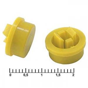 Колпачек для кнопки A24 Yellow