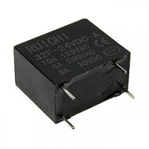 Реле электромеханическое 32F (N/O) 24VDC 5A