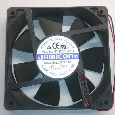 Вентилятор DC 120x120x25 (12v/0,5A) JF1225B1UR001-065R качения Jamicon