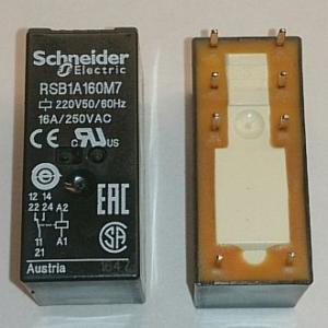 Реле электромеханическое RSB1A160M7 (220VAC)