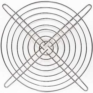 Решетка для вентилятора 172x172 металл