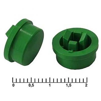 Колпачек для кнопки A24 Green