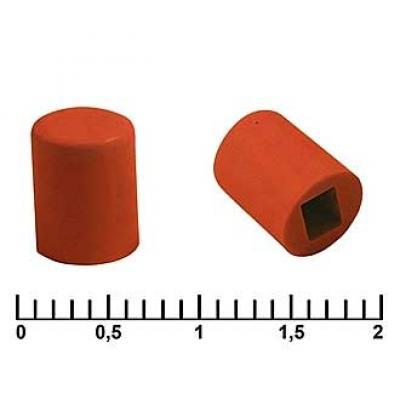 Колпачек для кнопки A06 red