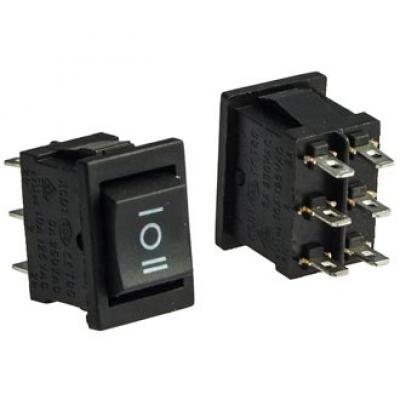 Клавишный переключатель SC776 6A/250V (on)-off-(on)