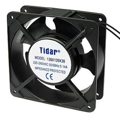 Вентилятор AC 120x120x38 (220v/0,14A) RQA12038HSL скольжения Tidar