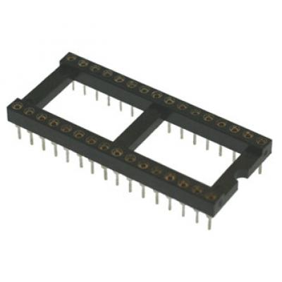 Панель для микросхем SCLM32 dip-32 (2.54mm) (цанговые)