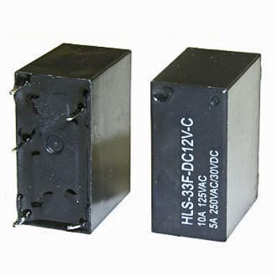 Реле электромеханическое 33F 12VDC 10A