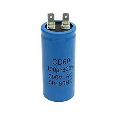 Пусковой конденсатор 100uf/300v CD60