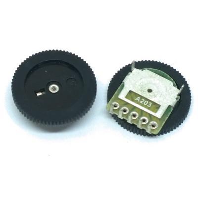 Переменный резистор R1001G22B1-A203 2х20к