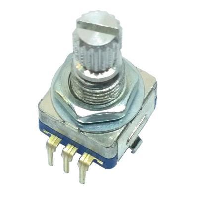 Энкодер 11x12 L=15mm с кнопкой (#6)