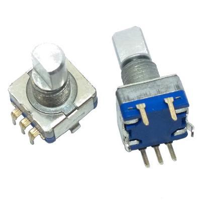 Энкодер 11x12 L=15mm с кнопкой (#7)
