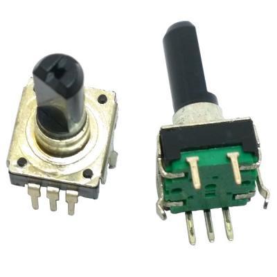Энкодер 12x12 L=20 с кнопкой