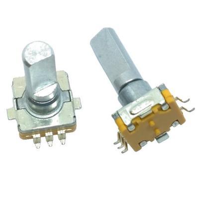 Энкодер EC11-1S-D5x4,5-L20 F-SMT с кнопкой