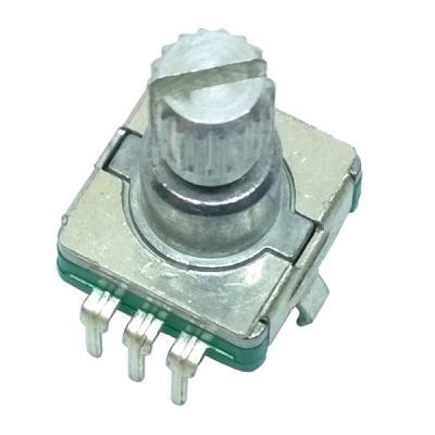Энкодер EC11-1S-D5x4,5-L12 KQ с кнопкой