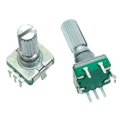Энкодер EC11-1S-D5x4,5-L20 KQ с кнопкой