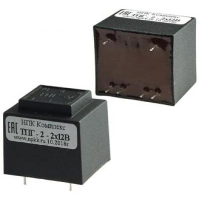 Трансформатор сетевой ТПГ-2 2х12В