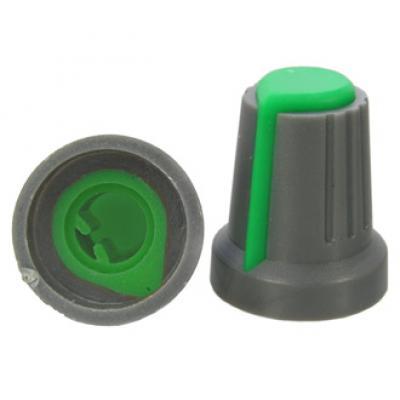Приборная ручка RR4817 (6mm п.круг зеленый)