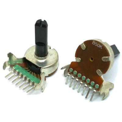 Переменный резистор D17F B2x50K 7C