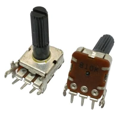 Переменный резистор 13x13 KC B10k