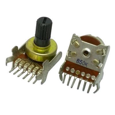 Переменный резистор D12KC B2x50k