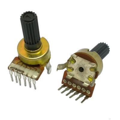 Переменный резистор D12KC B2x100k