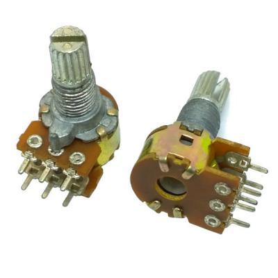 Переменный резистор D12KC B2x20k
